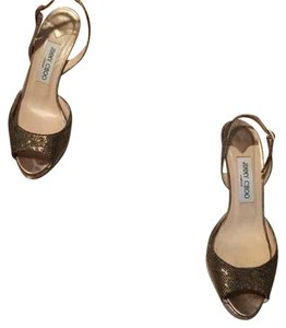 Jimmy Choo Bronze/Gold Formal