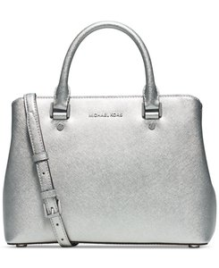 Michael Kors Anabelle Tote in Silver