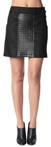 7 For All Mankind Mini Skirt Black