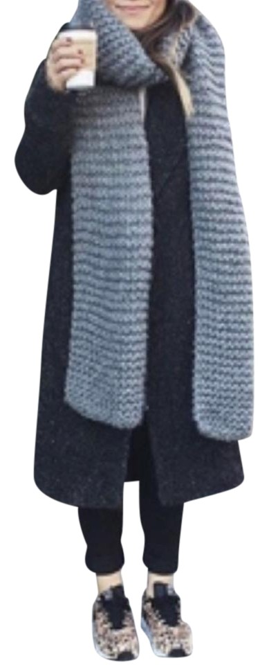 142a1286d1 Available In  Black Heather Grey Navy Burgundy   Hunter Green. Mega  Scarf Wrap