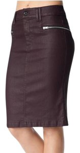 7 For All Mankind Skirt Burgundy