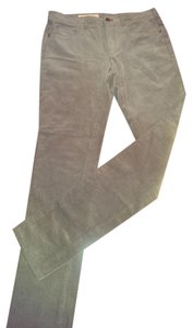 Anthropologie Pilcro Stretch Cord Taupe Skinny Pants Stone/taupe