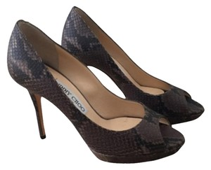 Jimmy Choo Dark Grey Pumps