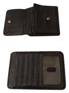 Claire's Dual black and gold wallets