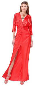 Poppy Red Maxi Dress by bebe