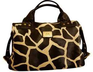 Anne Klein Tote in Black and white