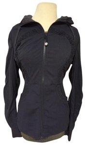 Lululemon yoga fitness hooded lined jacket
