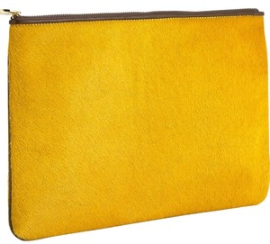 GiGi New York Yellow Clutch