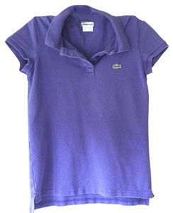 Lacoste Polo Shirt T Shirt purple