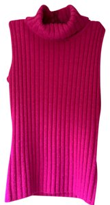 INC International Concepts Pink Turtleneck Sweater
