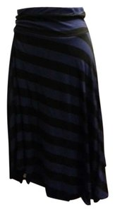 Express Skirt Black/Purple