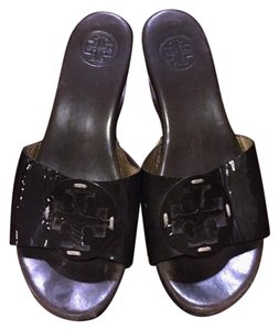 Tory Burch chocolate Brown Wedges