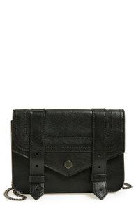 Proenza Schouler Inspired Straps Magnetic-snap Strap Closures Chain Strap Exterior Zip Pocket Cross Body Bag