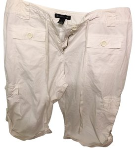 INC International Concepts Bermuda Shorts white