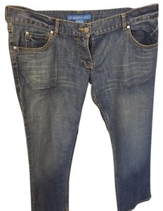French Connection Casual Capris blue