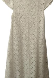 INC International Concepts short dress Cream/gold on Tradesy