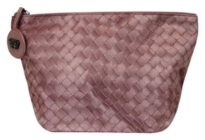 Bottega Veneta New Authentic Intrecciolusion Nylon Cosmetic Bag Pouch 301184 6322