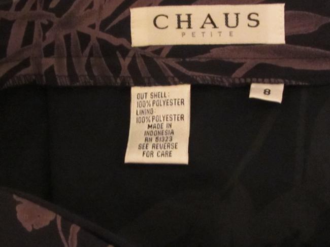 Chaus Skirt navy with flower print