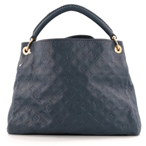 Louis Vuitton Tote Leather Hobo Bag