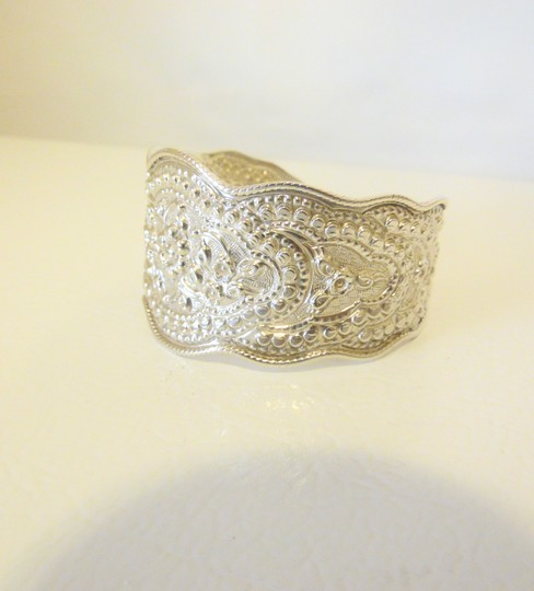 Other Artisan Crafted .925 Sterling Silver Cuff Bracelet Size 7