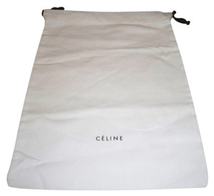 Céline Brand New Large Celine Sleeper/ Dust Bag or Protective Cover White with Black Logo . Size 10 width x 14 Length. Drawstring Bag.
