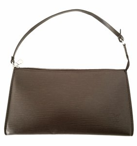 Louis Vuitton Pochette Wristlet in Brown