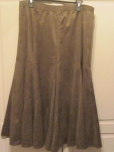 Coldwater Creek Skirt olive green