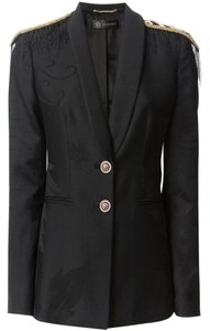 Versace Wool Black Blazer