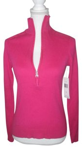 Lauren Ralph Lauren Knit Mockneck Long Sleeve Half Zip