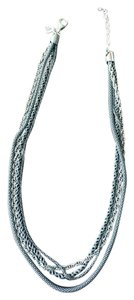Silpada Sterling Silver Silpada 4 Strand Necklace