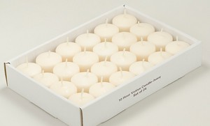 Ivory Votive Candles