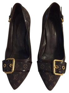 Louis Vuitton Signature Brown/Tan Pumps