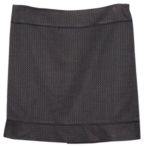 Ann Taylor Pencil Straight Skirt Black Blue Gray