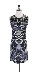 Alexander McQueen short dress Abstract Print Sleeveless on Tradesy