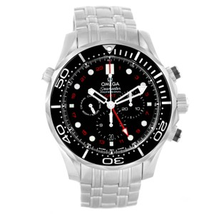 Omega Omega Seamaster Diver 300M Co-Axial GMT 44mm Watch 212.30.44.52.01.001