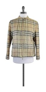Burberry Signature Plaid Wool Blend Jacket