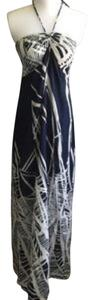 Navy & white Maxi Dress by Ann Taylor LOFT