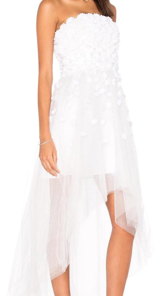 78f865e3fab0 Parker White Midtown High-low Short Casual Dress Size 0 (XS) - Tradesy