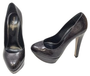 Sergio Rossi Black/Grey Platforms