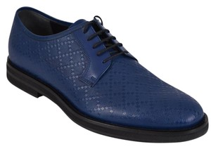 Gucci Men's Oxfords Blue Flats