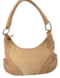 Via Spiga Leather Fabric Shoulder Bag