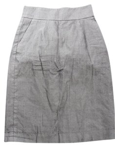Banana Republic Pencil Dress Skirt Gray