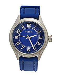 Fossil BQ1043 Men's Blue Band Watch
