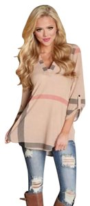 Other Top Beige Pink, black, white