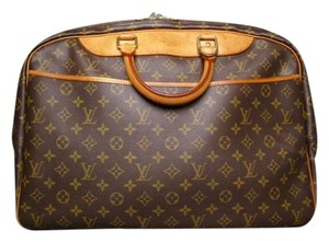 Louis Vuitton Vuitton Alize 24 Heures Travel Monogram Brown Travel Bag
