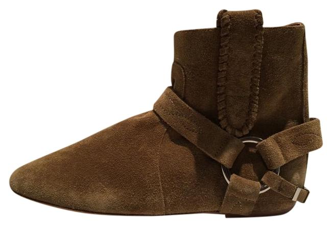 Item - Camel Newi Ralf Suede Wedge Ankle Boots/Booties Size EU 35 (Approx. US 5) Regular (M, B)