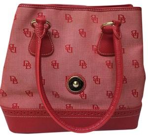 Dooney & Bourke Satchel in Red