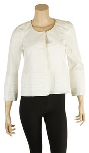 RED Valentino Casual 100% Cotton White Jacket