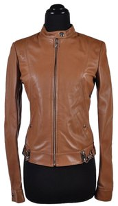 Versace Leather Motorcycle Jacket