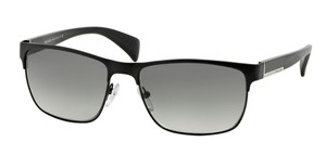 Prada Prada L-METAL SPR51O Sunglasses PR51OS Matt Black FAD3M1 Authentic